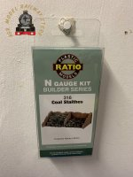 Ratio 316  Coal Staithes x 2 - N Gauge