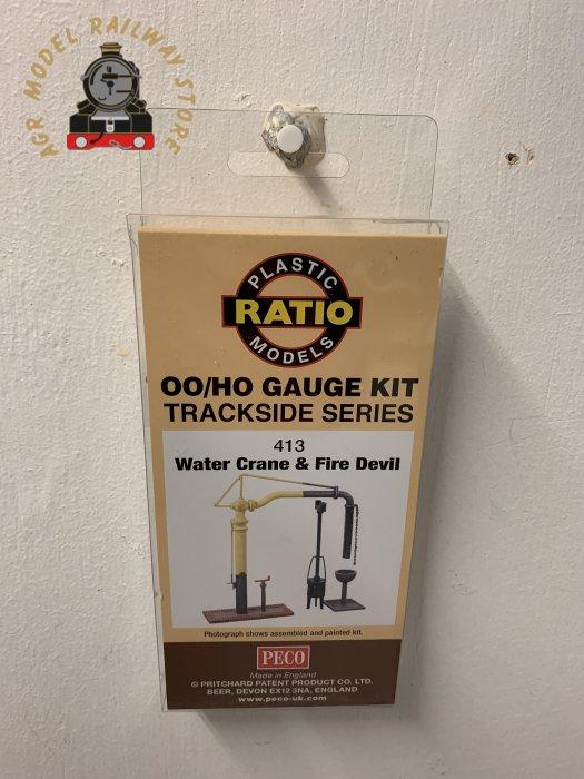 Ratio 413  Water Crane & Fire Devil - OO Gauge