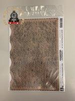 Superquick D9 Red Sandstone Ashlar Walling Building Papers - OO Gauge