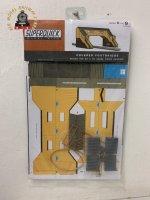 Superquick A9 Covered Footbridge - OO Gauge Card Kit