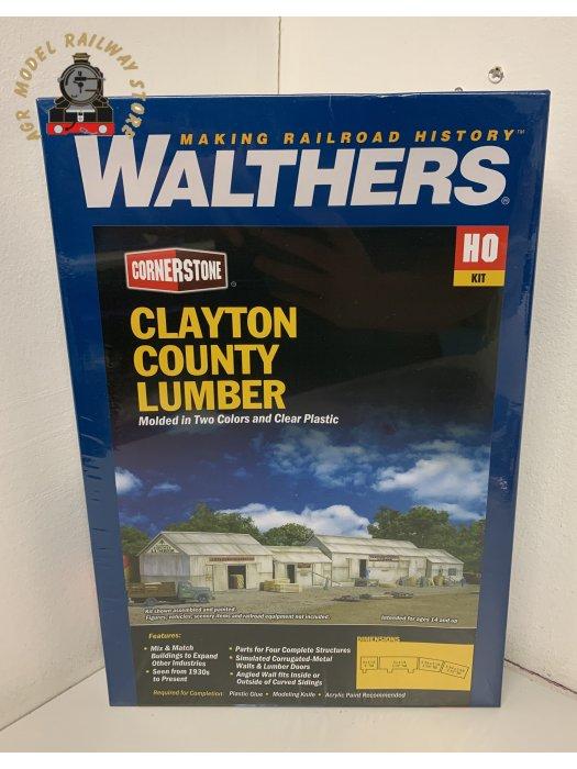 Walthers Cornerstone 933-2911 Clayton County Lumber - Kit