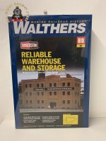 Walthers Cornerstone 933-3014 Reliable Whse & Storage - HO/OO Gauge
