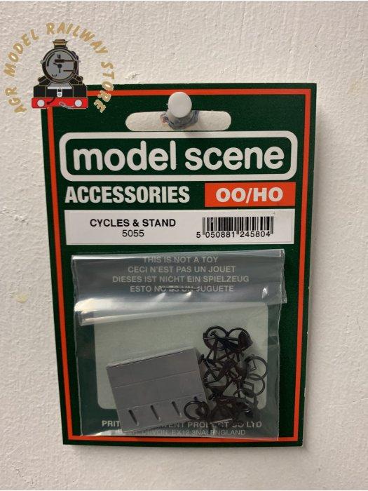 Modelscene 5055 Cycles & Stand - OO Gauge