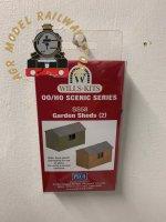 Wills SS58 Wooden Garden Sheds Kit - OO Gauge