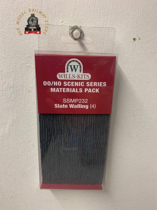 Wills SSMP232 OO Gauge Slate Walling