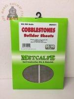 Metcalfe MOO51 Cobblestones - OO Gauge
