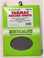 Metcalfe MOO56  Tarmac Sheets (8 x A4 size) - OO Gauge