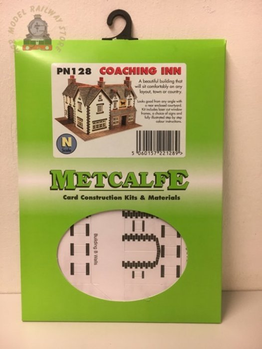 Metcalfe PN128 Coaching Inn Card Kit - N Gauge