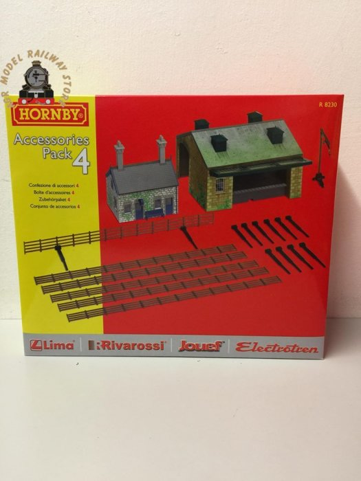 Hornby R8230  Building Extension Pack 4 - OO Gauge