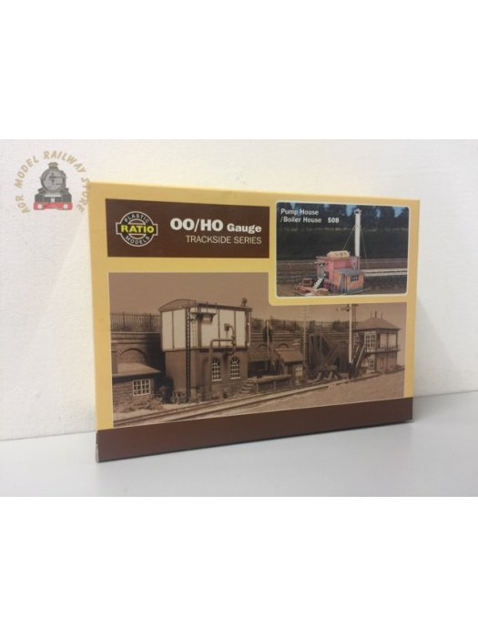 Ratio 508  Pumphouse / Boiler House with chimney - OO Gauge