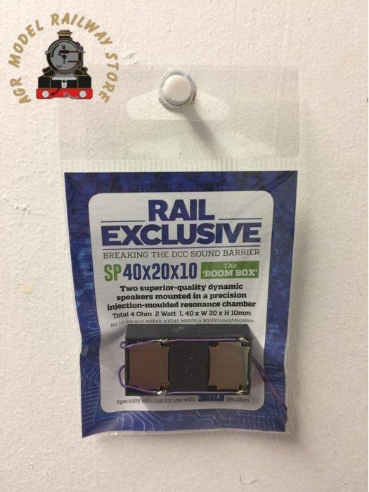 Rail Exclusive SP40x20x10 'The Boom Box' Twin Speaker