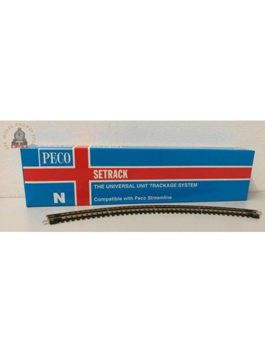 Peco ST-15  Setrack 2nd Radius Double Curve - N Gauge