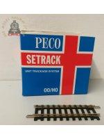 Peco ST-202  Setrack Short Straight - OO Gauge